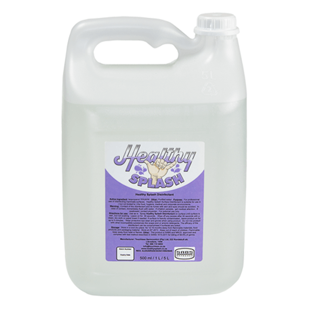 The 5l healthy splash disinfectant